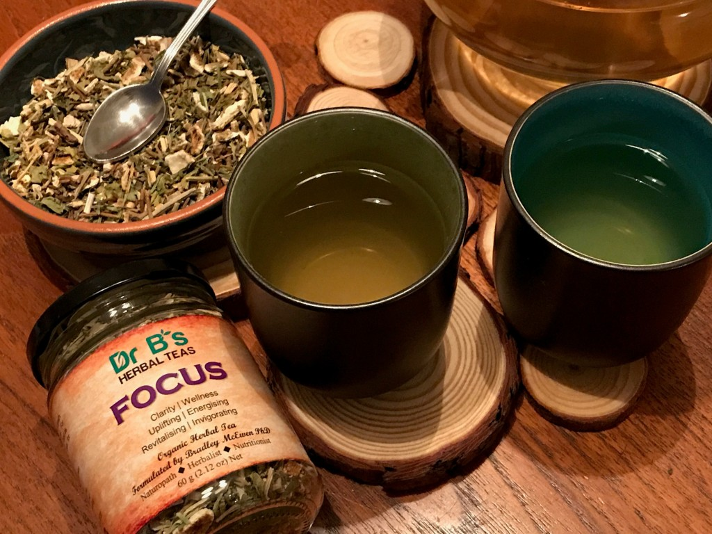 Dr B's Herbal Teas - Focus 3