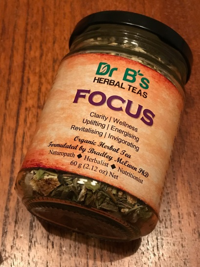 Dr B's Herbal Teas - Focus